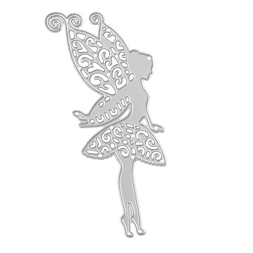 Stencil ZTY66, Metal Fairy Butterfly Cutting Dies / Template / DIY Mould for Scrapbook Album Paper Card