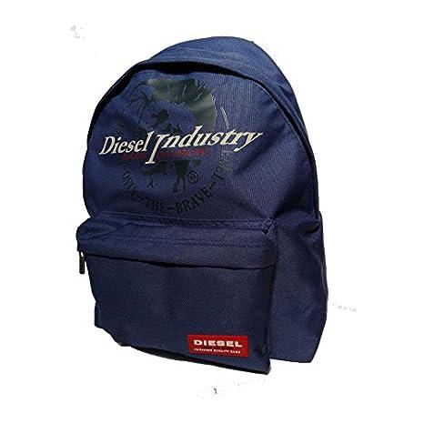 Diesel Mochila Escolar americano azul