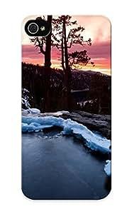 [gjRcozy5888YzyTc] - New Snowy Mountain Stream Protective Iphone 5/5s Classic Hardshell Case