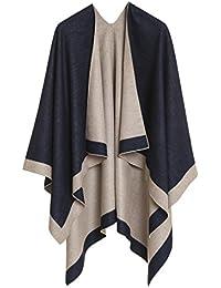 Cardigan Poncho Cape: Women Elegant Cardigan Shawl Wrap...