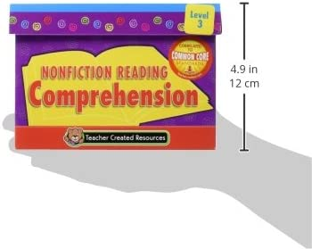 Teacher Created Resources Nonfiction Comprehension Cards 3055 Teacher Created Resources OS