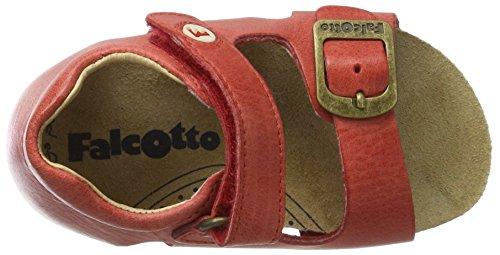 FalcottoFalcotto 1406 - Botines de Senderismo Bebé-Niños rojo (rojo)