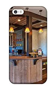 Kishan O. Patel's Shop New Style New Premium Flip Case Cover Rustic Country Kitchen Featuring Curved Bar Top Skin Case For Iphone 5/5s 6459180K84039098 Kimberly Kurzendoerfer