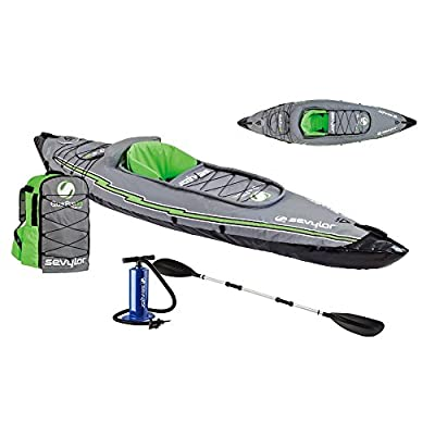 2000014136 Sevylor K5 Quikpak153; Inflatable Kayak from Sevylor