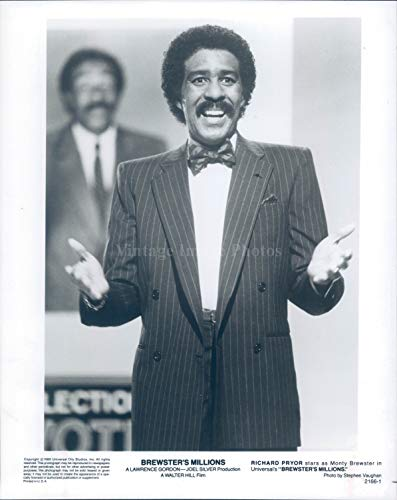 Vintage Photos 1985 Brewsters Millions Richard Pryor Celebrity Actor Comedian Film 8x10