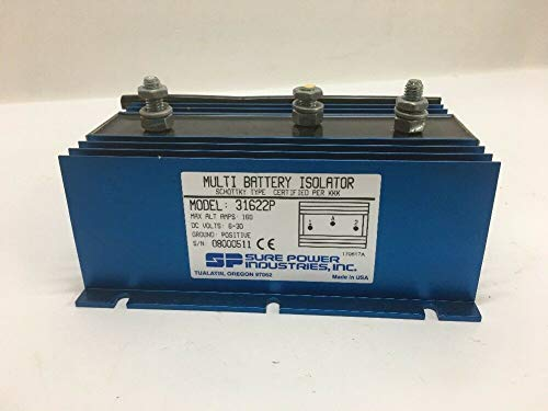 Sure Power Inc. Multi Battery Isolator 31622P Semiconductor Device Rectifier by Sure Power Inc.