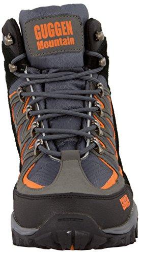 Fjellklatring Sko Guggen Fjellsko oransje Trekking M009 Fjellet Grå Klatring Cq4gwvX