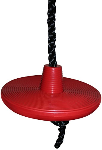 Jungle Gym Kingdom Red Tree Disc Rope Swing - 3