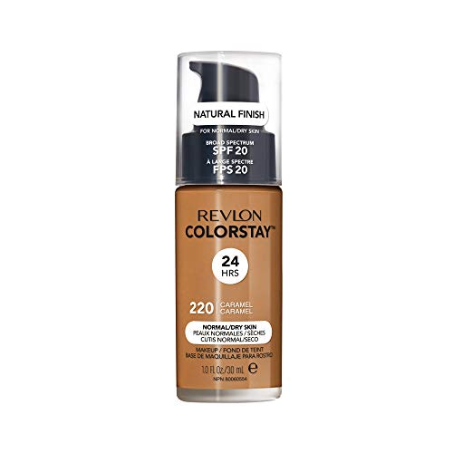 Revlon ColorStay Liquid Foundation For Normal/dry Skin,Caramel, 1 Fl Oz