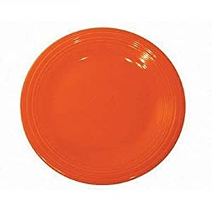 9 Luncheon Plate [Set of 4] Color: Tangerine by Unknown