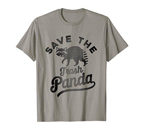Trash Panda Cute Raccoon Animal Lover meme (Hugger White T-shirt)