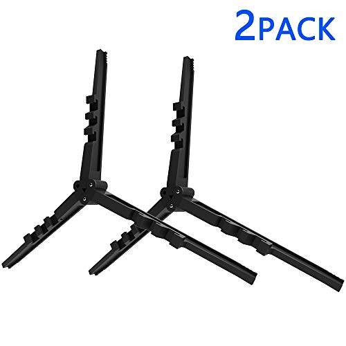 GASPRO Foldable Outdoor Camping Hiking Cooking Gas Tank Stove Stand Cartridge Canister Tripod Small Mini Butane Stove Camp Kitchen Folding Canister Stand (2PACK)