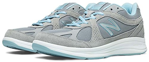 (New Balance Women's WW877 Walking Shoe, Silver, 12 2A US)