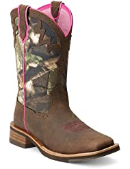 Ariat Womens Unbridled Camo Cowgirl Boot Square Toe - 10012828