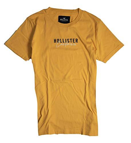 Hollister Men's T-Shirt (Yellow 0184, XS) from Hollister