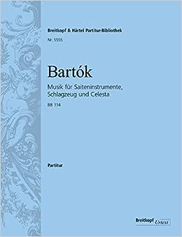 バルトーク: 弦楽器、打楽器とチェレスタのための音楽/Fladt編: 指揮者用大型スコア/ブライトコップ & ヘルテル社/スコア 室内楽九重奏以上