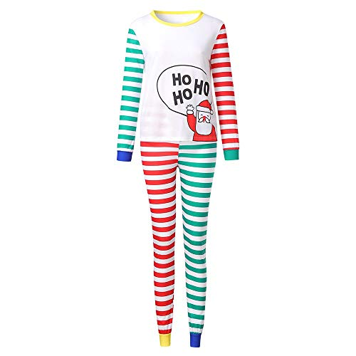 Christmas Cartoon Santa Women's Pajamas