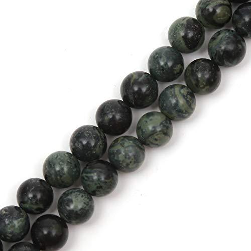 Genuine Natural Stone Beads Kambaba Jasper Round Loose Gemstone 8mm 1 Strand 15.5
