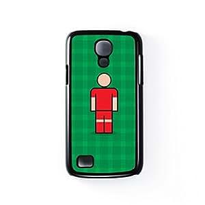 Crawley Black Hard Plastic Case for Samsung? Galaxy S4 Mini by Blunt Football + FREE Crystal Clear Screen Protector wangjiang maoyi