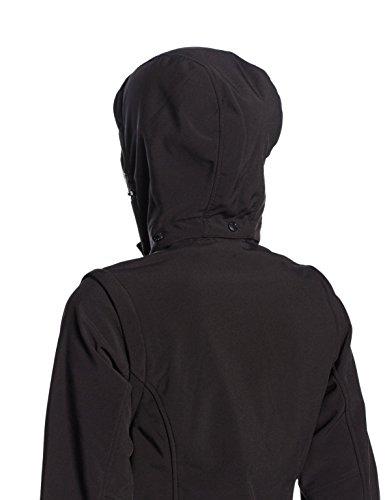 Campagnolo Femme Noir LLI Softshell U901 Noir Veste CMP F RwqFxCg