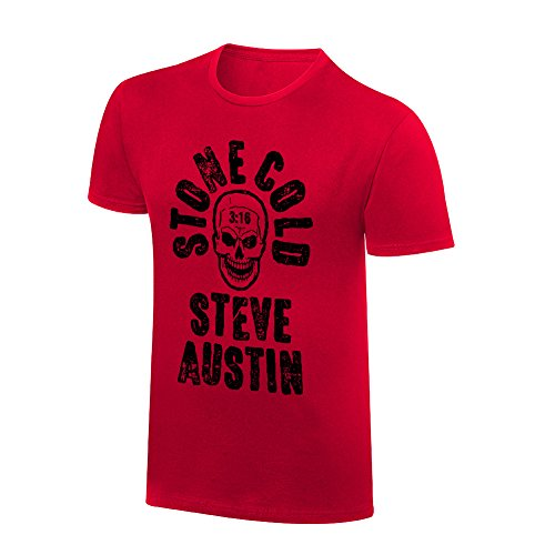 WWE Stone Cold Steve Austin Vintage T-Shirt Black XL (Authentic Vintage T-shirts)