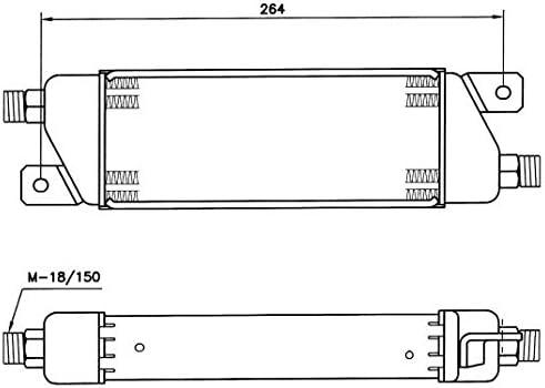 NRF 31050 /Ölk/ühler Motor/öl