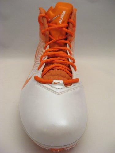 Nike Air Zoom Alpha Talon Tacchetti Calcio Bianco / Arancio Brillante