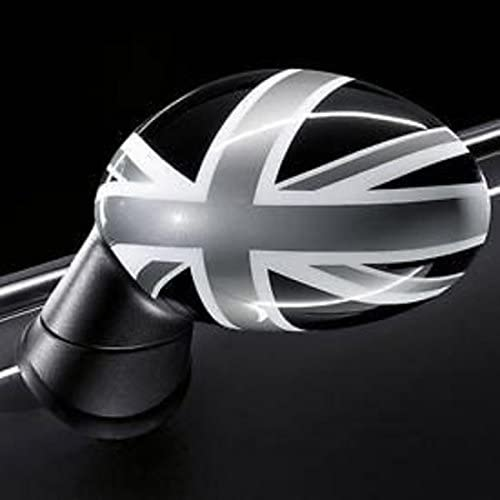 MINI Genuine Right O//S Driver Door Wing Mirror Cover Cap Black Jack 51162409446
