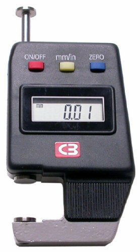 Chicago Brand 50199 0.575-Inch Digital Thickness Gage by Chicago  B009JBAZQ0
