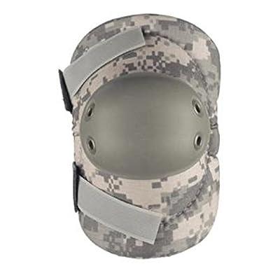 ALTA 53010.15 AltaFLEX Elbow Protector Pad, Universal (ACU) Cordura Nylon Fabric, AltaGrip Fastening, Flexible Cap, Round, Foliage Green: Industrial & Scientific