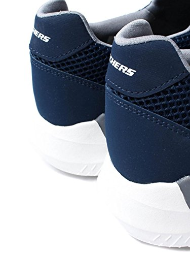 view Skechers Mens Matrixx Kingdon Athletic Casual Slip On Sport Trainers Navy/Grey many kinds of cheap online Rki6fr