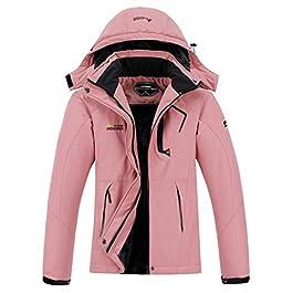 MOERDENG Women's Waterproof Ski Jacket Warm Winter Snow Coat Mountain Windbreaker Hooded Raincoat Snowboarding Jackets title
