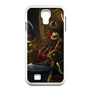 League of Legends(LOL) Fiddlesticks Samsung Galaxy S4 9500 Cell Phone Case White DIY Gift pxf005-3605020