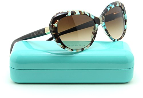 Tiffany & Co. TF 4122 Women Sunglasses Brown Gradient - Tiffany Sunglasses
