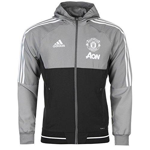 manchester united white jacket - 9