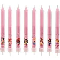 dekora Velas de Cumpleaños Infantiles de Princesas Disney