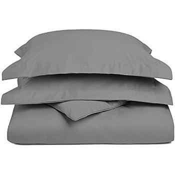 Amazon Com 1200 Thread Count 3 Piece Cotton Blend Solid