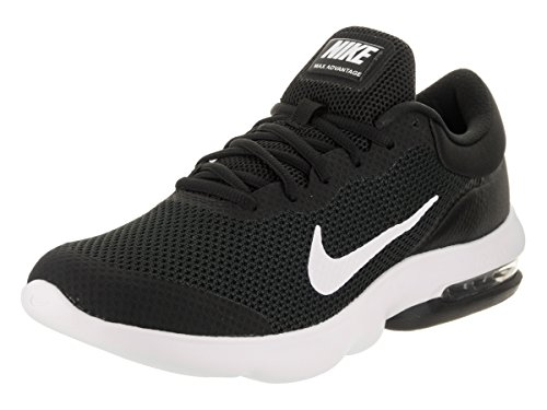 Nike Men's Air Max Advantage Black/White Running Shoe 12 Men US