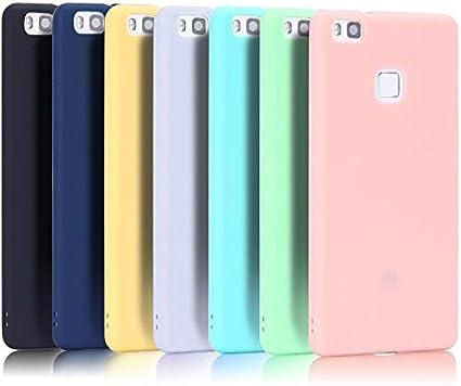 CaseLover 7X Cover Huawei P9 Lite, Morbido TPU Silicone Custodia per Huawei P9 Lite (5.2 Pollici) Ultra Sottile Flessibile Protettiva Cassa Satinato ...