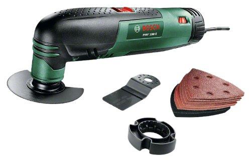 Bosch 0603100500 Herramienta Multifuncional, 190 W, 240 V, Negro, Verde