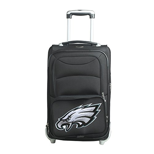 picture of NFL Philadelphia Eagles In-Line Skate Wheel Carry-On Luggage, 21-Inch, Black