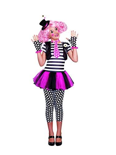Clownin Around Child Costumes (SugarSugar Girls Clownin' Around Costume, One Color, Small, One Color, Small)
