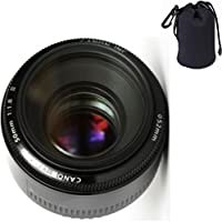 Canon 50mm 1.8 II Lens + Lens Carrying Pouch