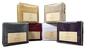 california king size taupe platinum 2100 thread count series luxurious microfiber. Black Bedroom Furniture Sets. Home Design Ideas