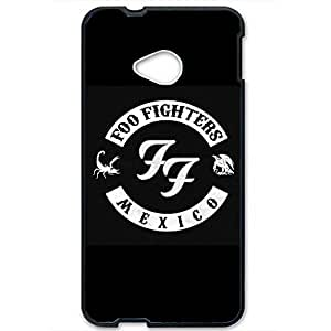 Classic Style Foo Fighters Logo Phone Case 3D Hard Plastic Case Cover For Htc One M7