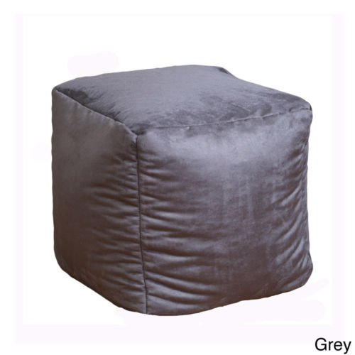 Kids Bean Bag Chairs, Suede,grey , for Any Child, Boys and Girls. An Essential Piece of Children's Furniture. Grey in Color This Item Can Be Part of Your Living Accessories As Well As a Bedroom Accessory. Blends with Classic & Modern Furniture Sets.