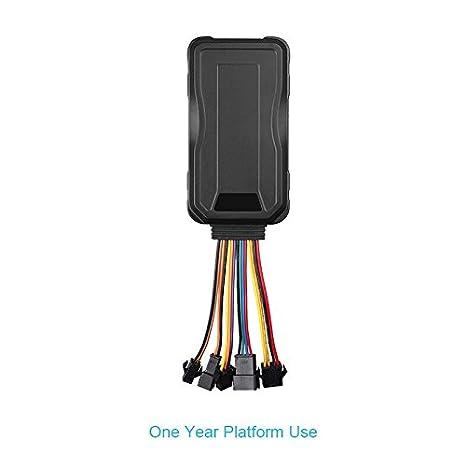 Concox 3 G GPS Tracker pour voiture/camion/Moto Gt06e avec capteur d'accé lé ration et SOS d'appel d'urgence Concoxlot GT06E-0