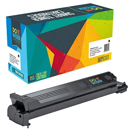 Do it Wiser Compatible Toner Cartridge Replacement for Konica Minolta BizHub C203 C253 C353 Black