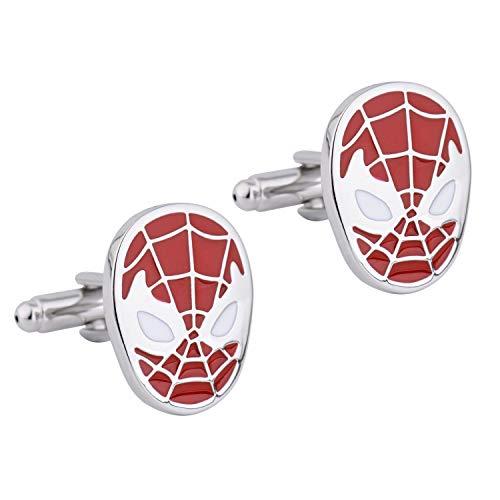 Zealmer 316L Stainless Steel Cufflinks for Men Business Wedding 1 Pair Gift for Him