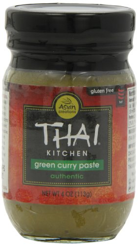 Thai Kitchen Green Curry Paste, 4-Ounce (Pack of (Thai Green Curry Sauce)